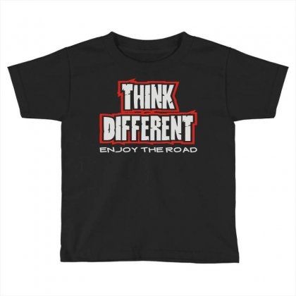 Think Different Toddler T-shirt Designed By Mdk Art