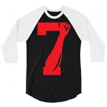 Colin Kaepernick Number 7 3/4 Sleeve Shirt Designed By Mdk Art