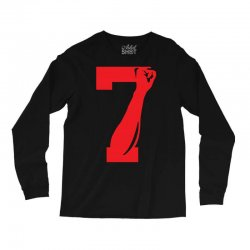 Colin Kaepernick Number 7 Long Sleeve Shirts | Artistshot