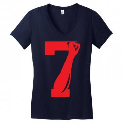 Colin Kaepernick Number 7 Women's V-Neck T-Shirt | Artistshot