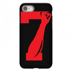 Colin Kaepernick Number 7 iPhone 8 Case | Artistshot