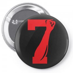 Colin Kaepernick Number 7 Pin-back button | Artistshot