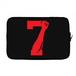 Colin Kaepernick Number 7 Laptop sleeve | Artistshot