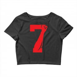 Colin Kaepernick Number 7 Crop Top | Artistshot