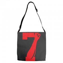 Colin Kaepernick Number 7 Adjustable Strap Totes | Artistshot