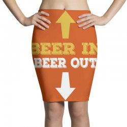 Beer in Beer out Pencil Skirts | Artistshot