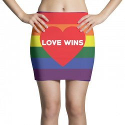 Love Wins Mini Skirts | Artistshot