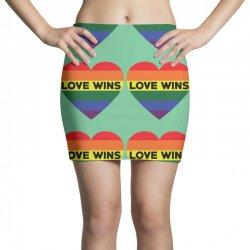 Love Wins Mini Skirts   Artistshot