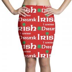 Irish I Were Drunk Pencil Skirts | Artistshot