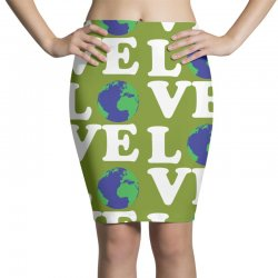 Love World Pencil Skirts | Artistshot