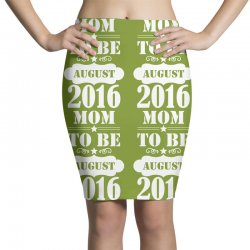 mom to be august 2016 1 Pencil Skirts | Artistshot