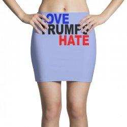 love trumps hate vote for hillary Mini Skirts | Artistshot
