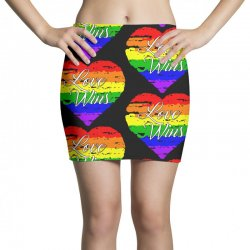 Love Wins One Pulse Orlando Strong Mini Skirts | Artistshot