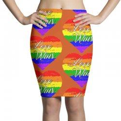 Love Wins One Pulse Orlando Strong Pencil Skirts | Artistshot