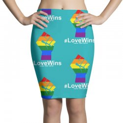 Love Wins 12th 2016 - Orlando Strong Pencil Skirts | Artistshot
