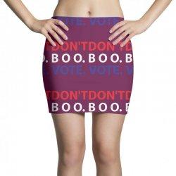 Dont Boo. Vote. Mini Skirts | Artistshot
