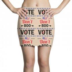 Dont Boo. Vote. Mini Skirts   Artistshot