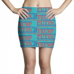 trump putin 2016 Mini Skirts   Artistshot