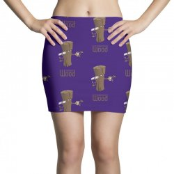 funny morning wood Mini Skirts | Artistshot
