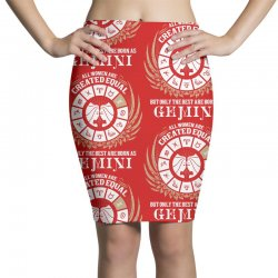 Gemini Women Pencil Skirts | Artistshot