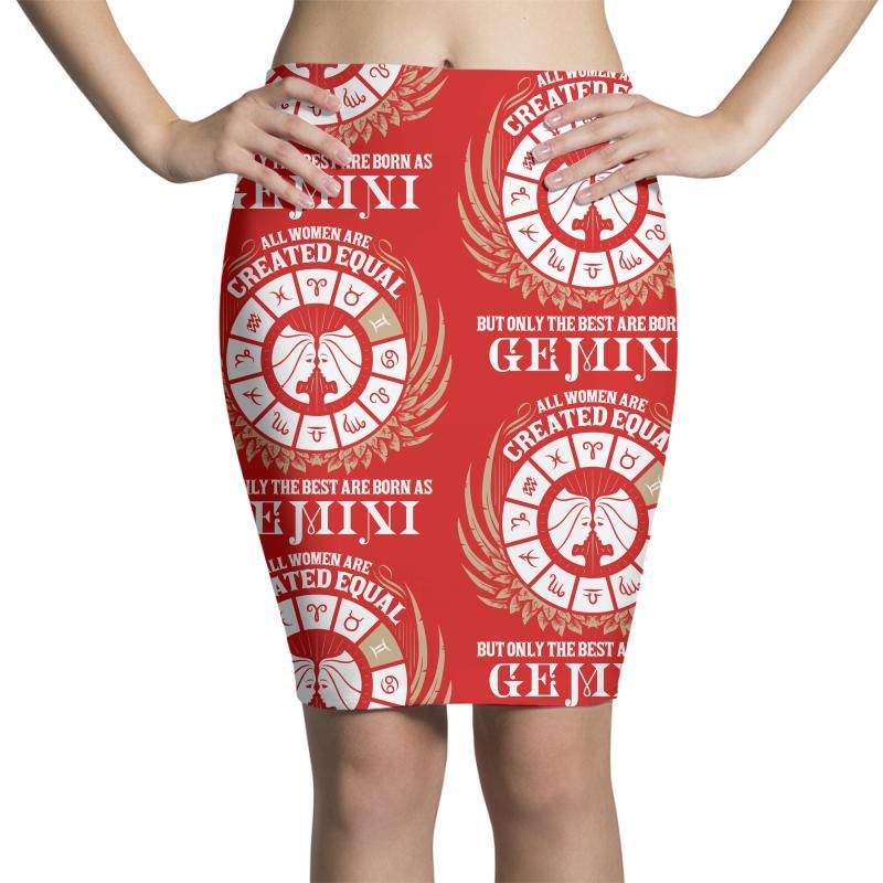 Gemini Women Pencil Skirts | Artistshot