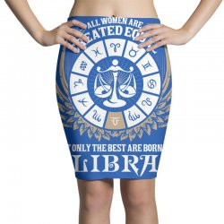 Libra Women Pencil Skirts | Artistshot
