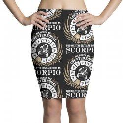 Scorpio Women Pencil Skirts   Artistshot