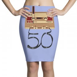 music tape retro Pencil Skirts | Artistshot