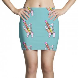 Funny cartoon pencil sharpener Mini Skirts | Artistshot