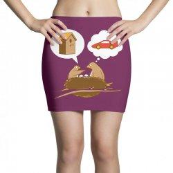 Funny Priorities Mini Skirts | Artistshot