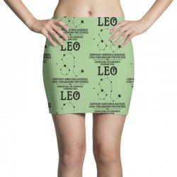 Leo Zodiac Sign Mini Skirts | Artistshot