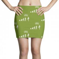 funny karate evolution Mini Skirts   Artistshot