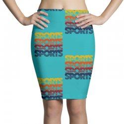 vintage sports Pencil Skirts   Artistshot