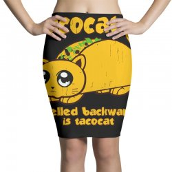 funny tacocat Pencil Skirts | Artistshot