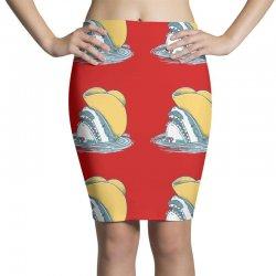 funny hat shark Pencil Skirts   Artistshot