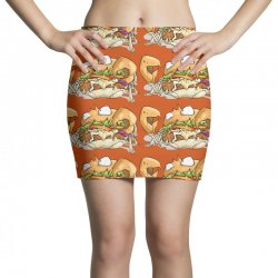 crabburger Mini Skirts | Artistshot