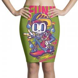 funny skate Pencil Skirts | Artistshot