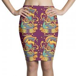 FUNNY ZODIAC SIGNS CAPRICORN Pencil Skirts | Artistshot