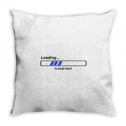 coole geek t shirts loading nerd admin computer pc big bang theory fun Throw Pillow | Artistshot