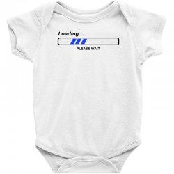 coole geek t shirts loading nerd admin computer pc big bang theory fun Baby Bodysuit | Artistshot