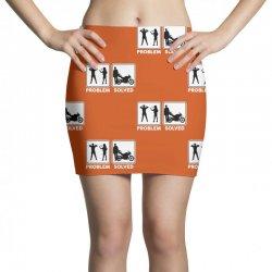 funny biker Mini Skirts   Artistshot