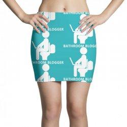 funny bathroom blogger Mini Skirts | Artistshot