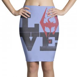 Love Skyrim Pencil Skirts | Artistshot
