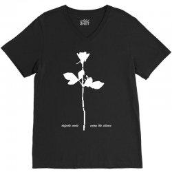 depeche mode violator enjoy the silence mens music V-Neck Tee | Artistshot