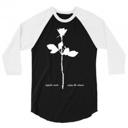 depeche mode violator enjoy the silence mens music 3/4 Sleeve Shirt | Artistshot