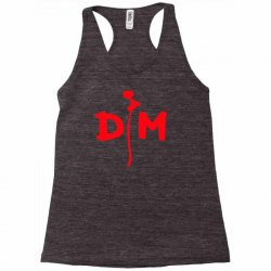 depeche mode pop rock stampa rossa enjoy the silence musica Racerback Tank | Artistshot