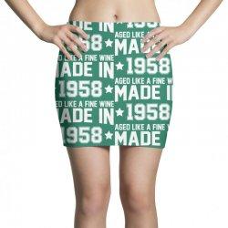 Made In 1958 Aged Like A Fine Wine Mini Skirts | Artistshot