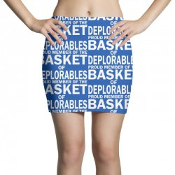 PROUD MEMBER OF THE BASKET OF DEPLORABLES Mini Skirts | Artistshot