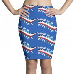 Proud To Be Deplorable Pencil Skirts   Artistshot