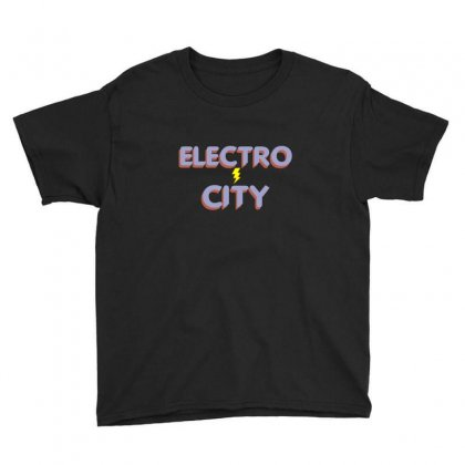 Electro City Youth Tee Designed By Wisnuta1979